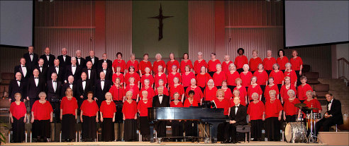 Baylor University Singing Seniors in concert